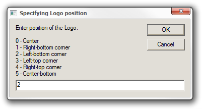 Specifying Logo position