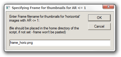 Specifying Frame for thumbnails for AR <= 1